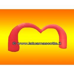 Arco Gonfiabile Cuore Rosso
