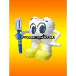 Pubblicitario Gonfiabile Dente